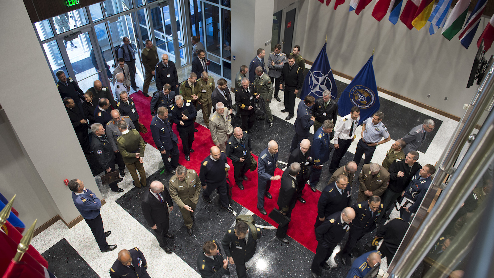 NATO's Military Committee visits NATO's home in the United States