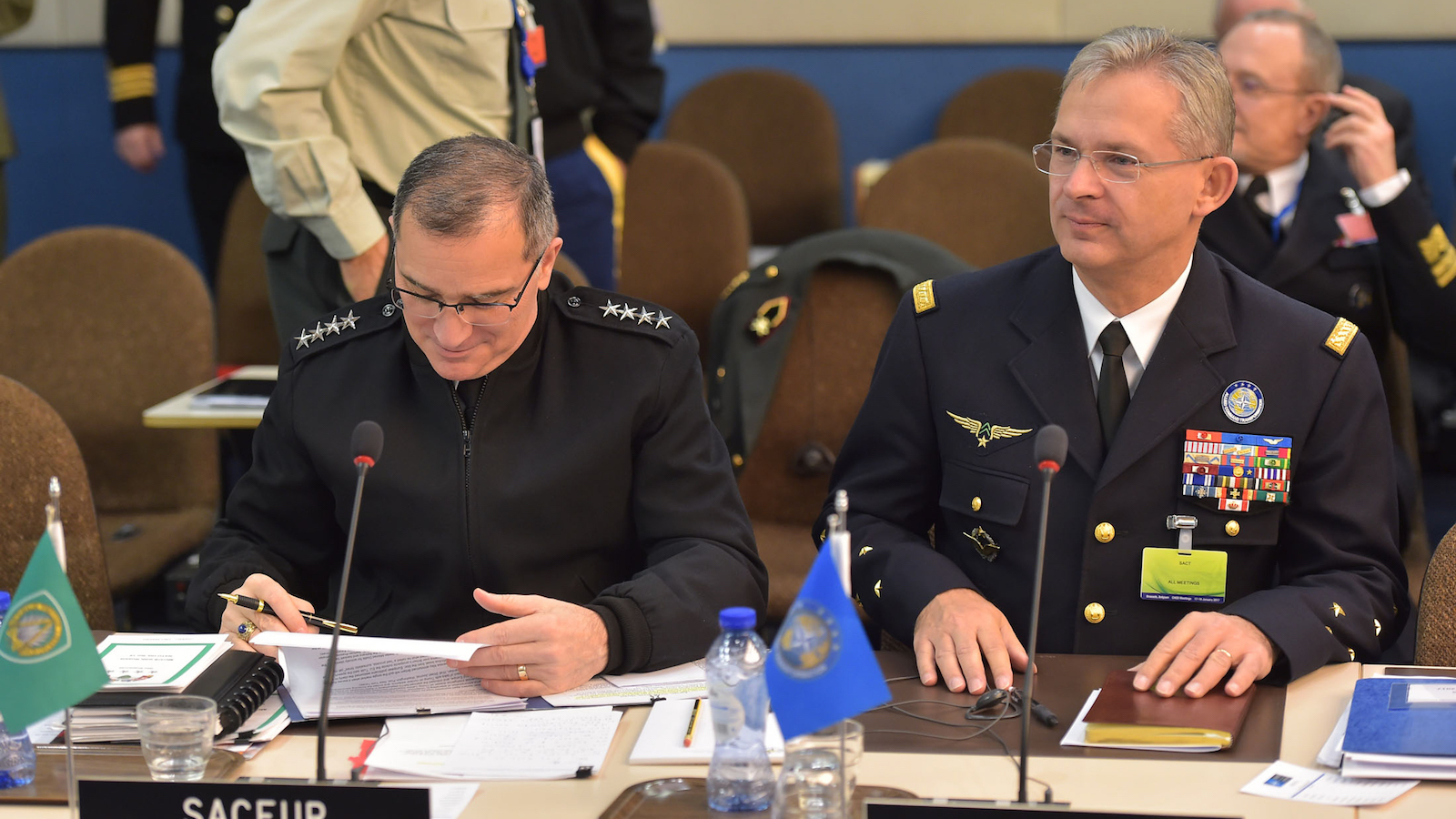 General Mercier at the NATO Chiefs of Defence Meeting