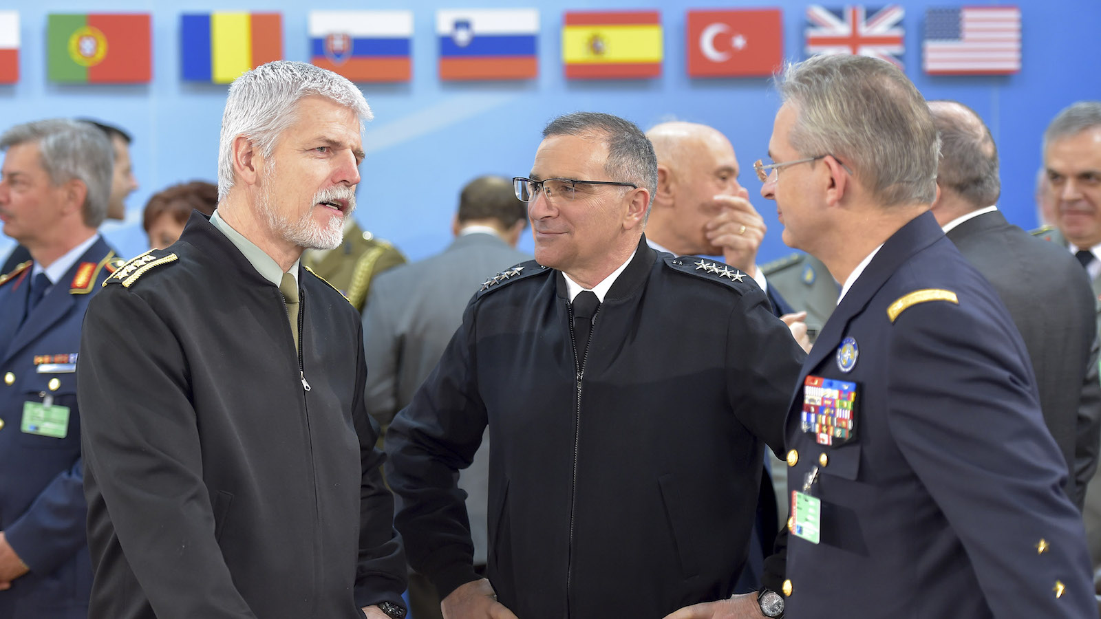 Meeting of NATO Defence Ministers in Brussels
