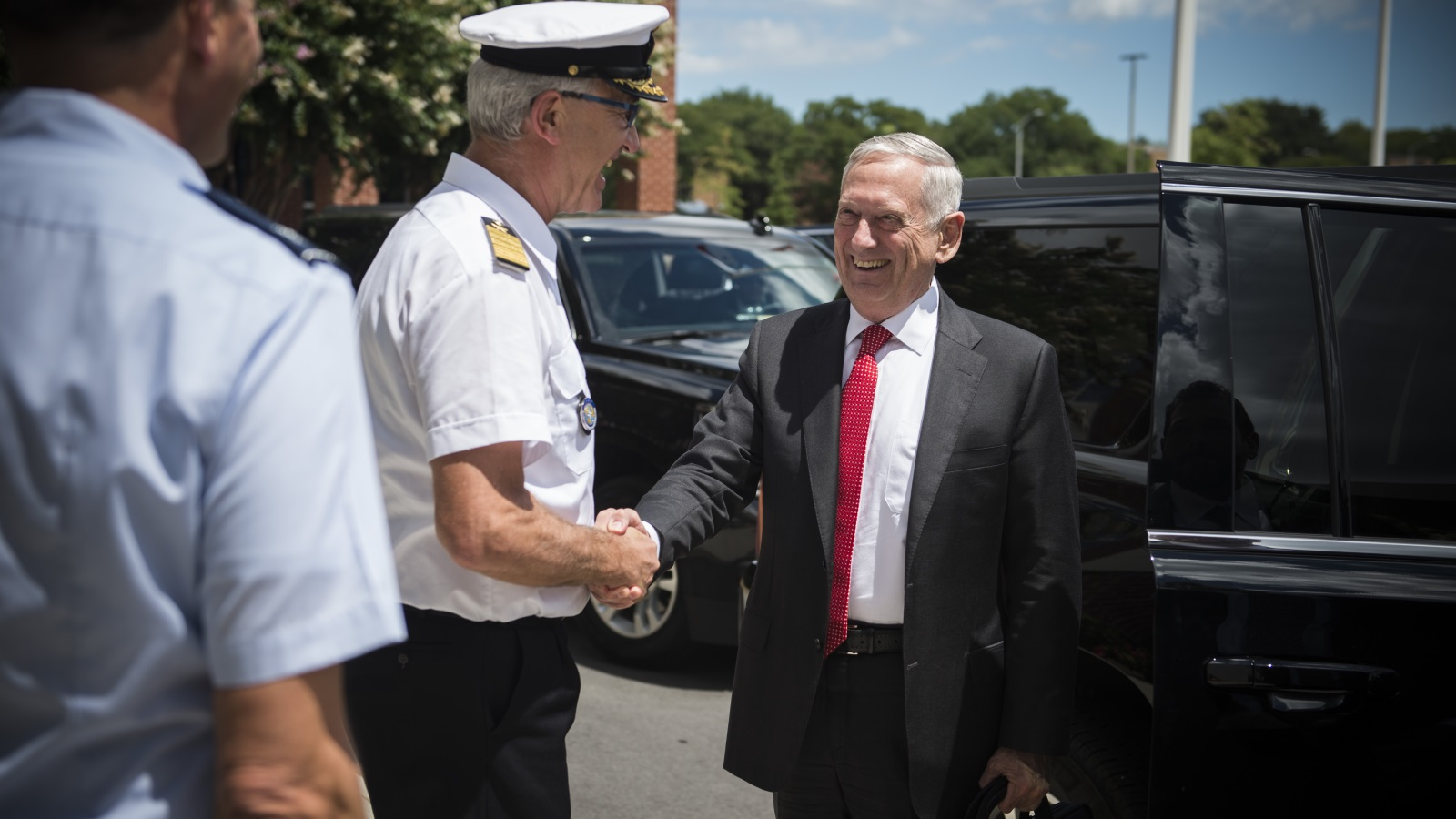 United States Secretary of Defense visits NATO Allied Command Transformation