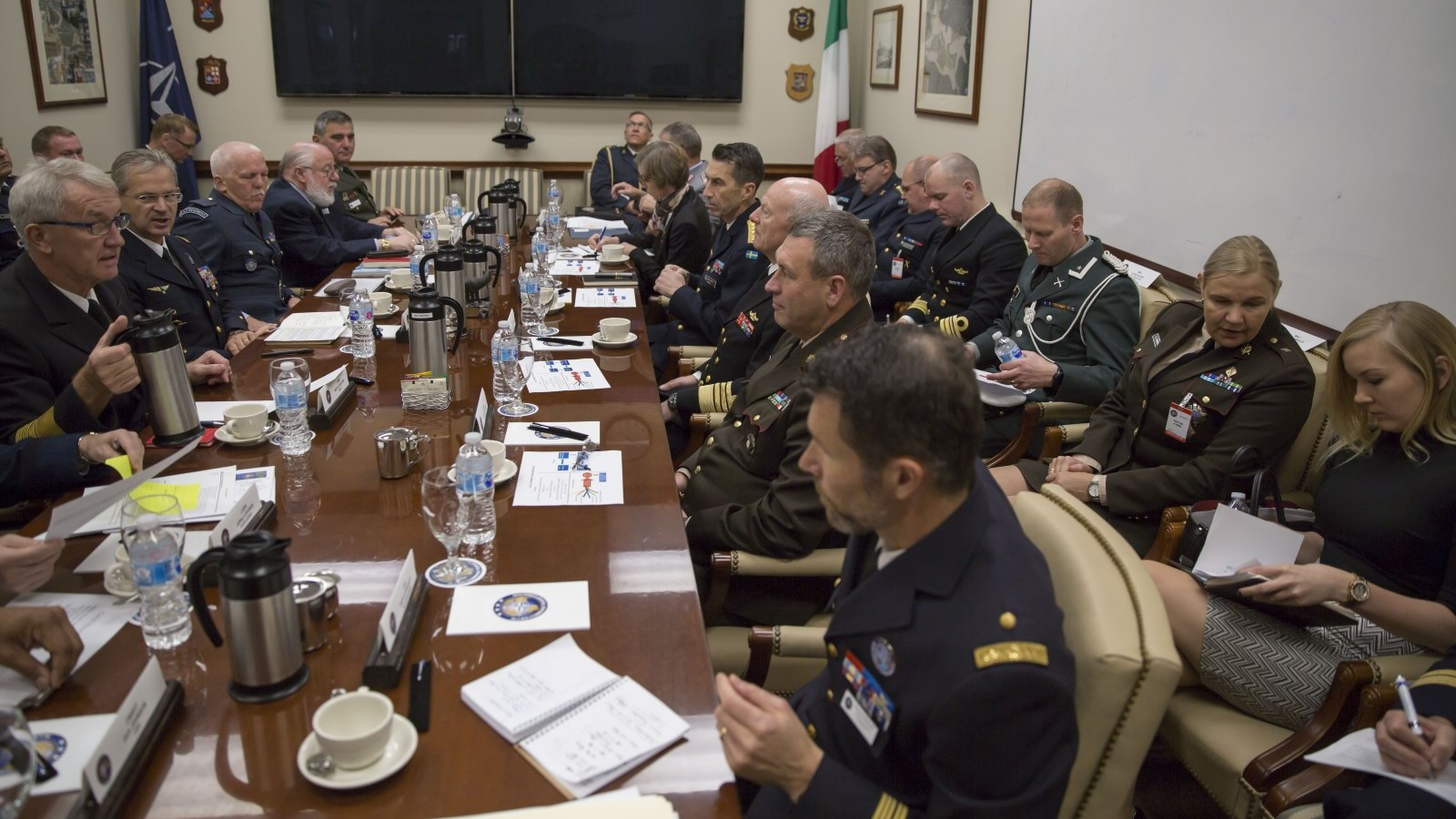 Baltic Allies and Partner Chiefs of Defence Visit NATO ACT