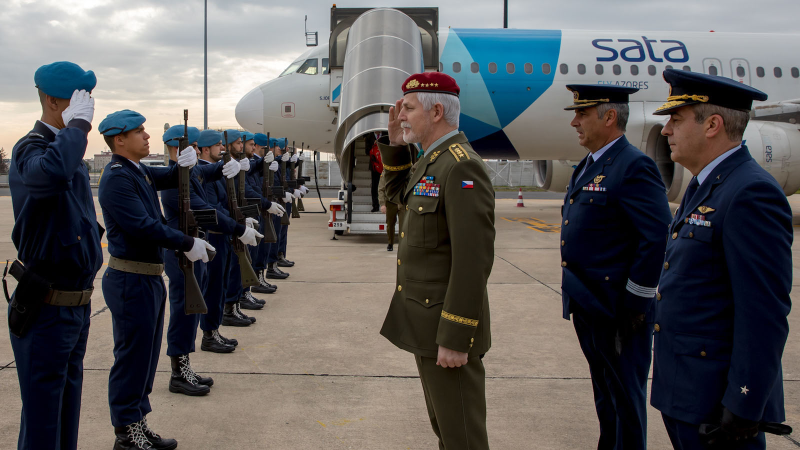 NATO Military Committee Visits Allied Command Transformation in Portugal