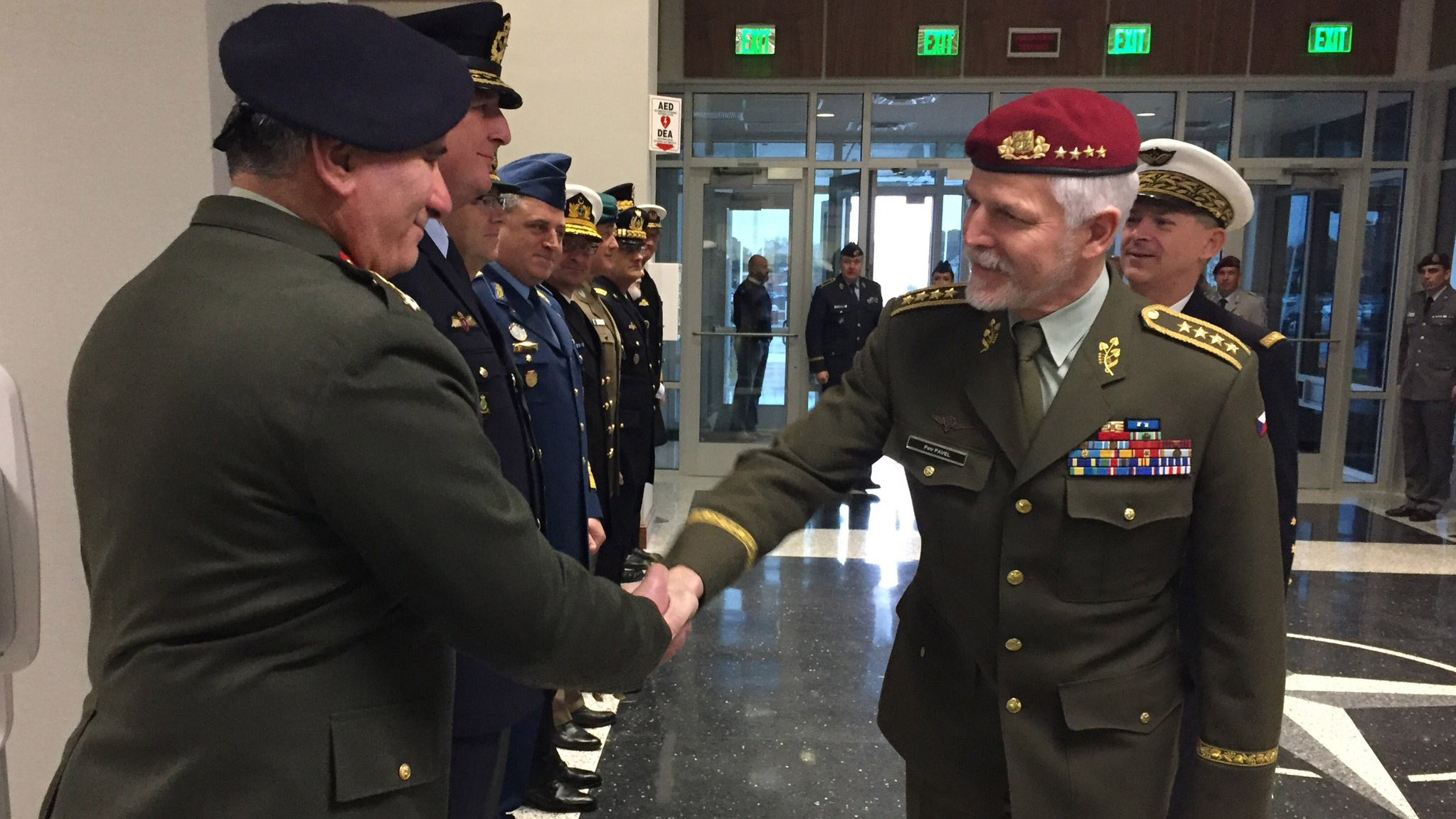 Chairman of NATO Military Committee Visits Allied Command Transformation
