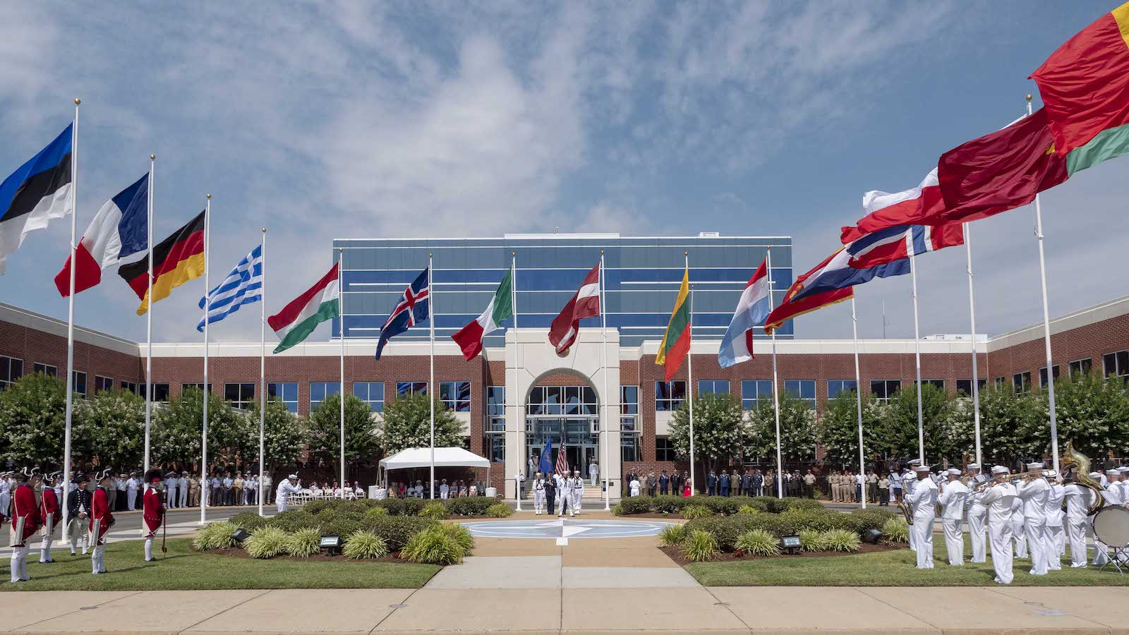 NATO Allied Command Transformation Celebrates America's Independence Day