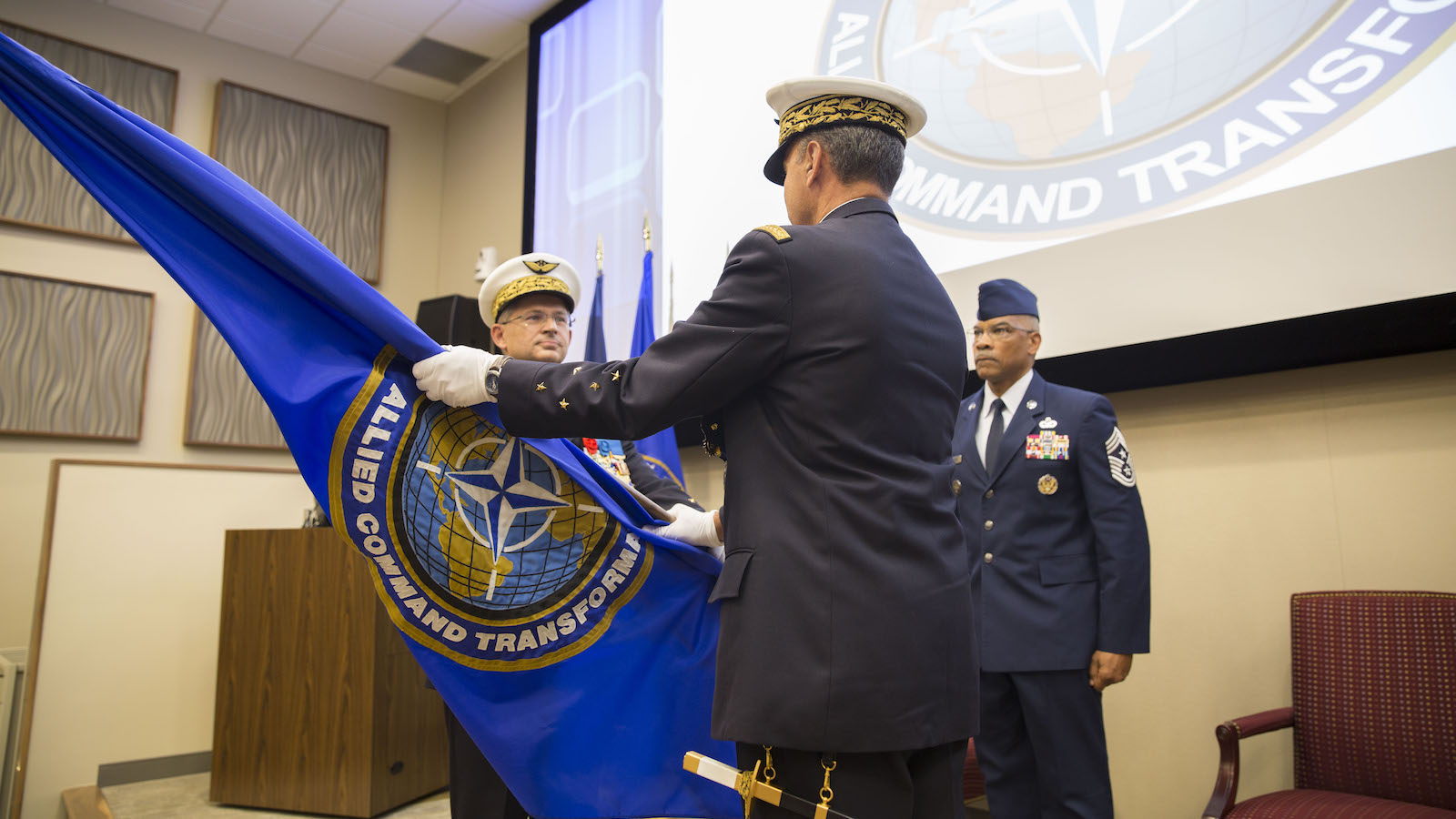 NATO's Warfare Development Command Changes Responsibility