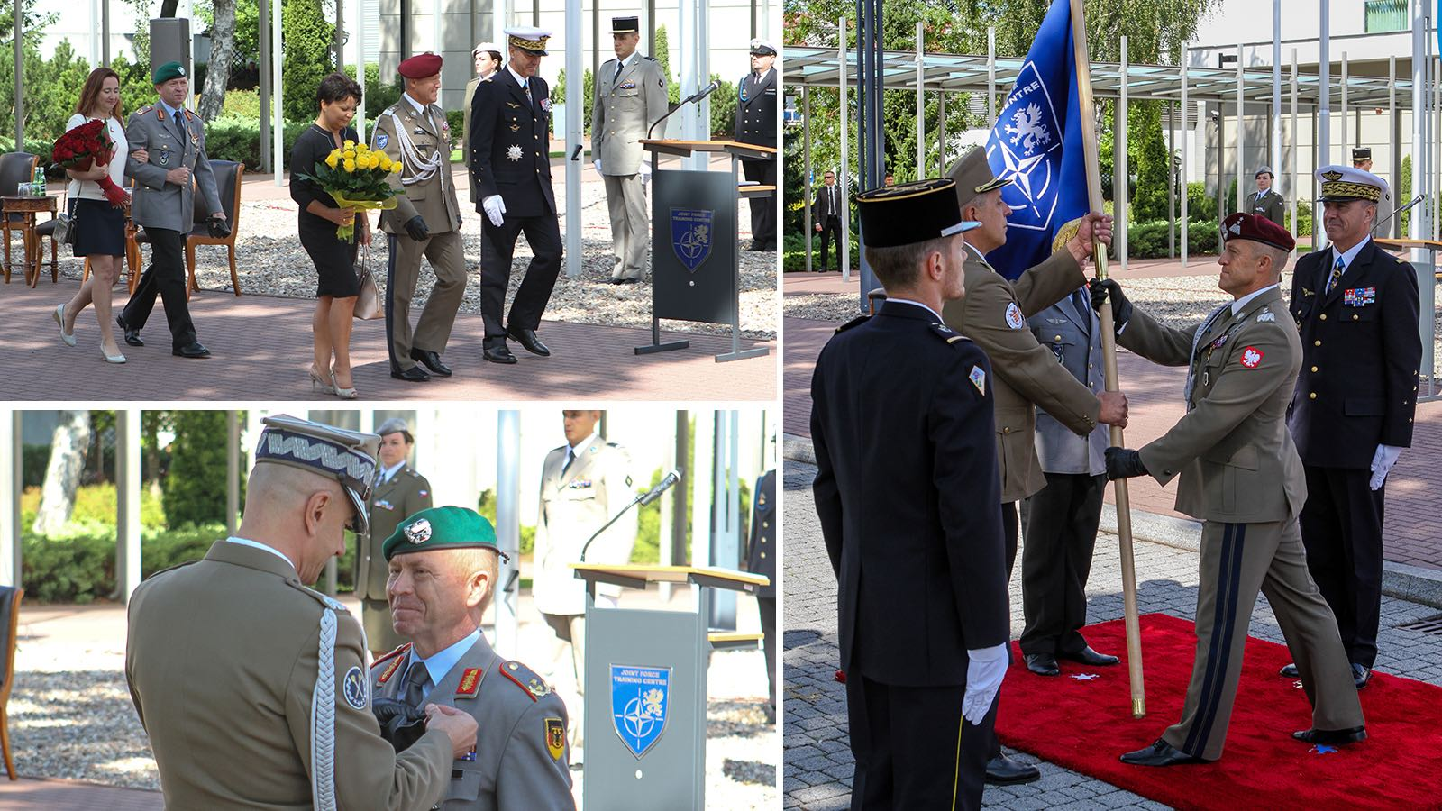 Change of Command at the Joint Force Training Centre