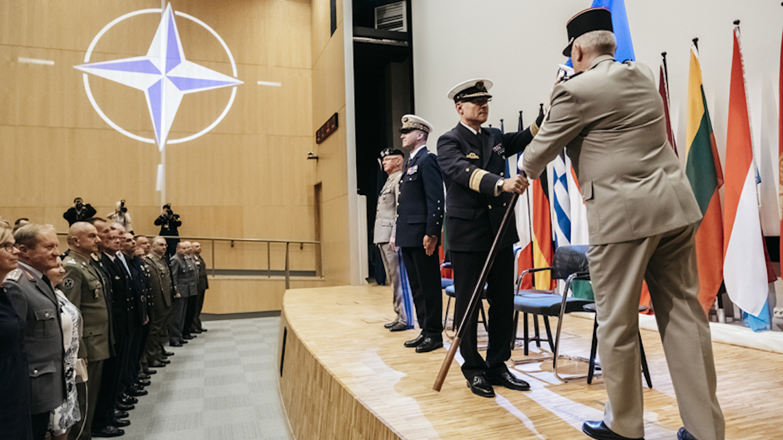 Change of Command at the Joint Warfare Centre