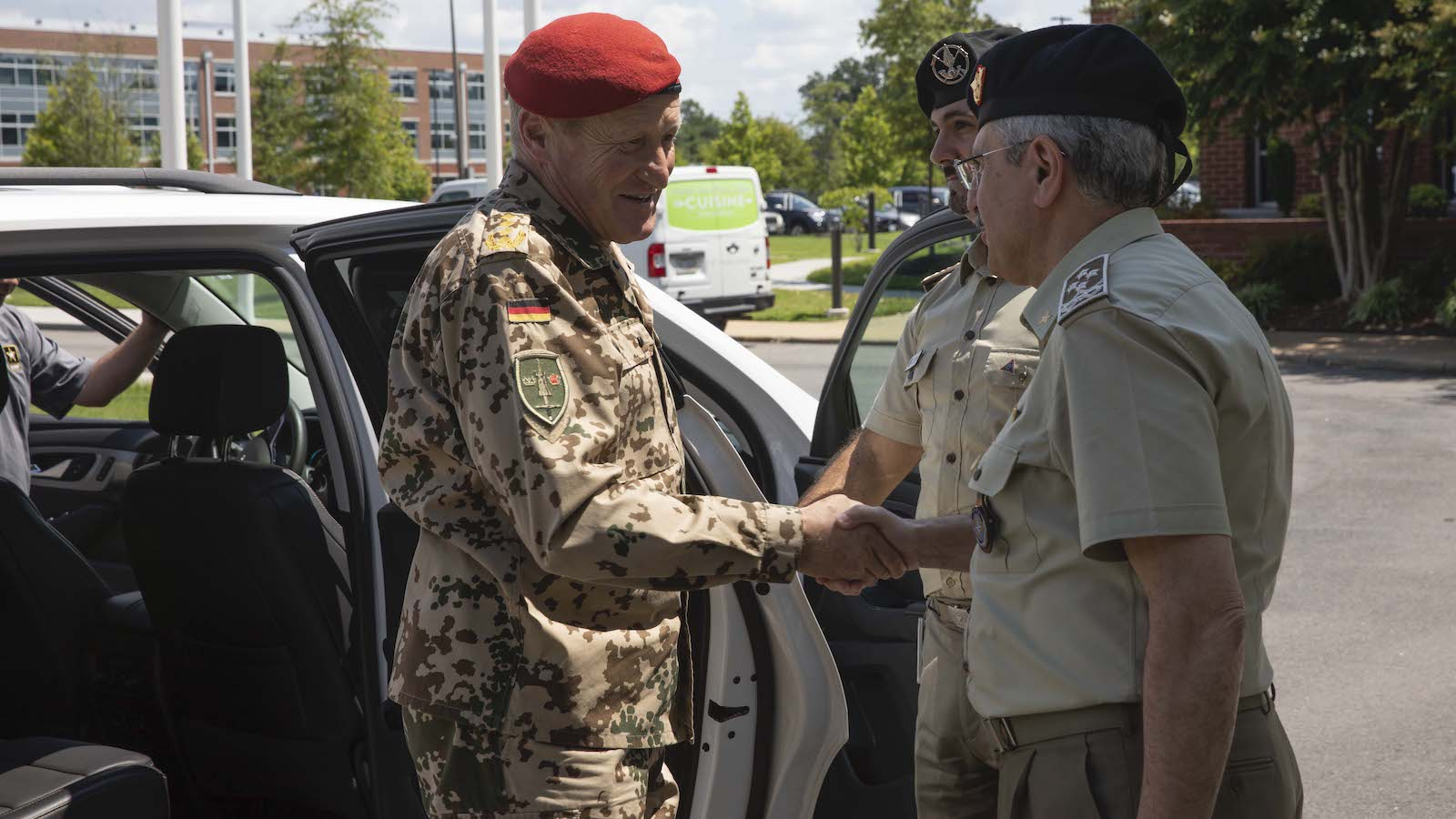 General Bühler Visits NATO's Home in North America