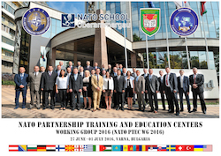 Partnership Training and Education Centres Working Group 2016